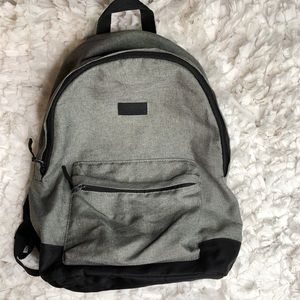 H&M Gray and Black Backpack